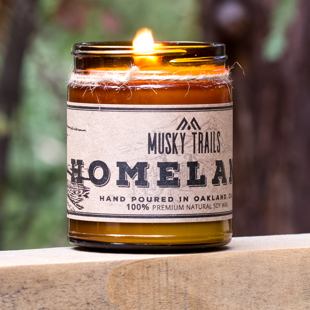 Kansas Homeland Soy Candle 8oz
