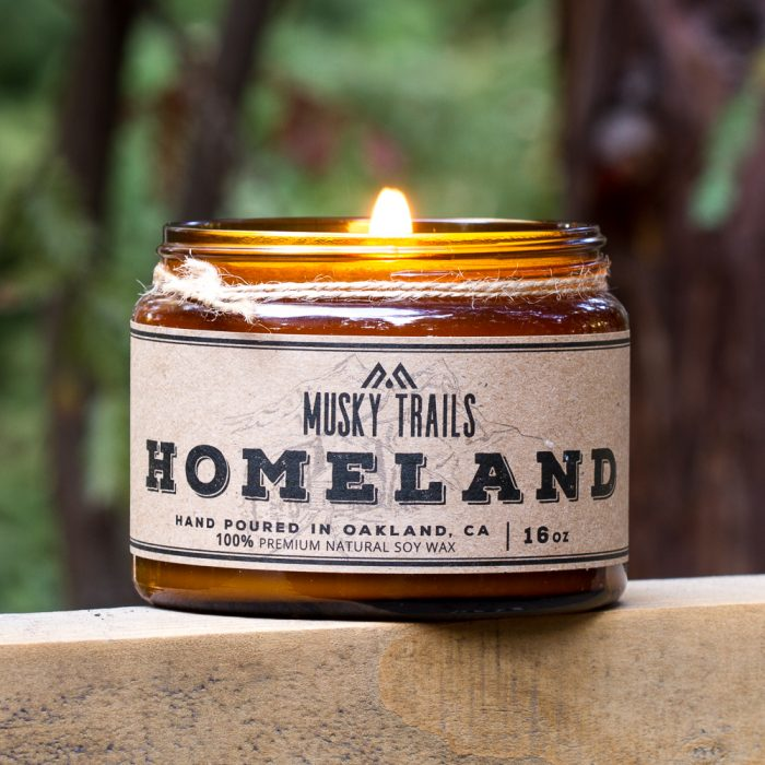 Kansas Homeland Soy Candle 16oz