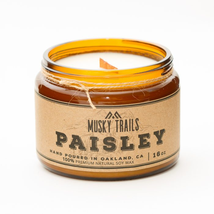 Musky Trails Paisley 16oz wick