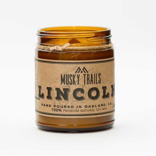 Lincoln 8oz Candle