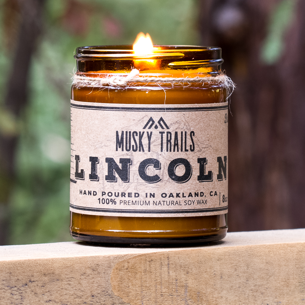 Lincoln Soy Candle 8oz
