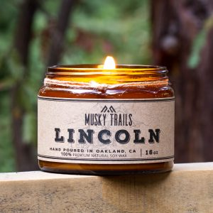 Lincoln Soy Candle 16oz
