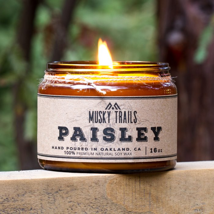 Paisley Soy Candle 16oz