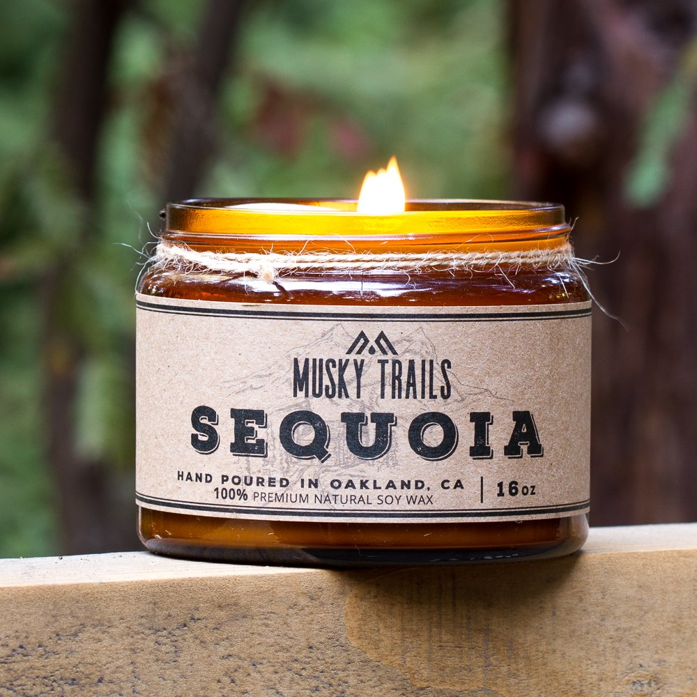 Sequoia National Park Candle | Musky Trails Artisan Candle Co