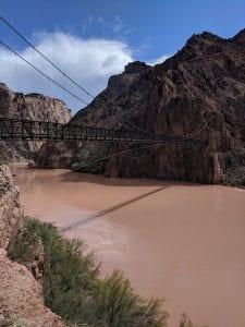 suspension bridge over colorado river