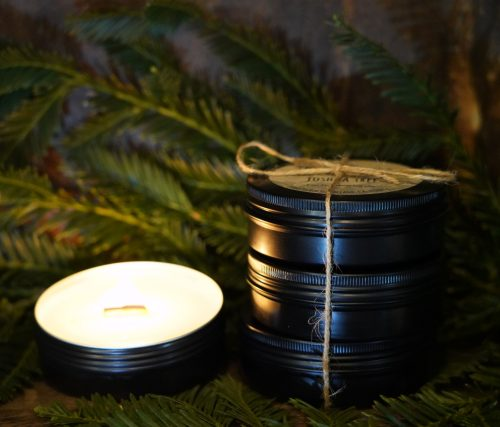 3 traveler tin candle bundle creative